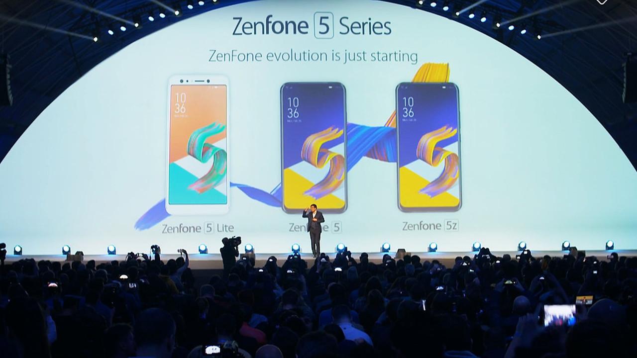 ASUS на MWC2018: Zenfone 5 в стиле iPhone X и много слов про ИИ