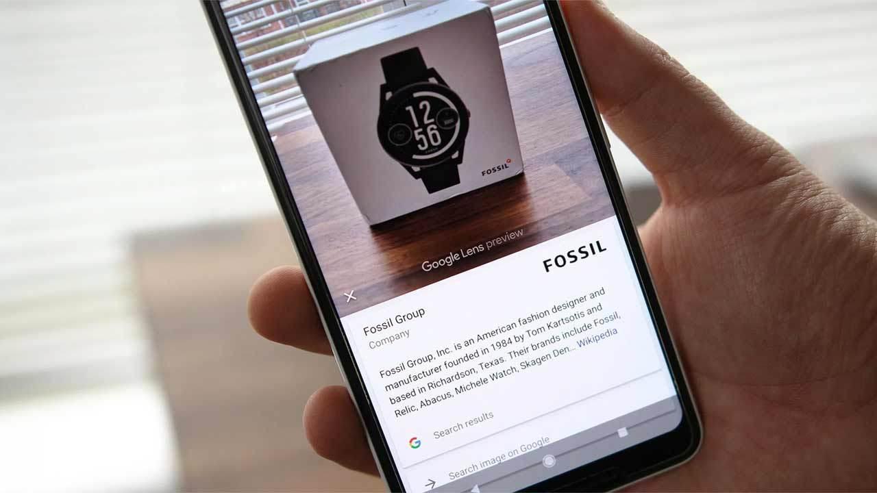 Сервис Google Lens стал доступен на всех Android-смартфонах