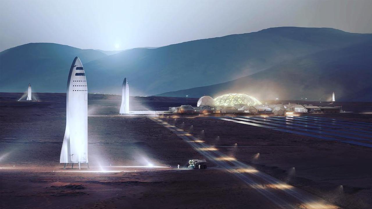 Илон Маск поведал, когда доделает ракету для полета на Марс