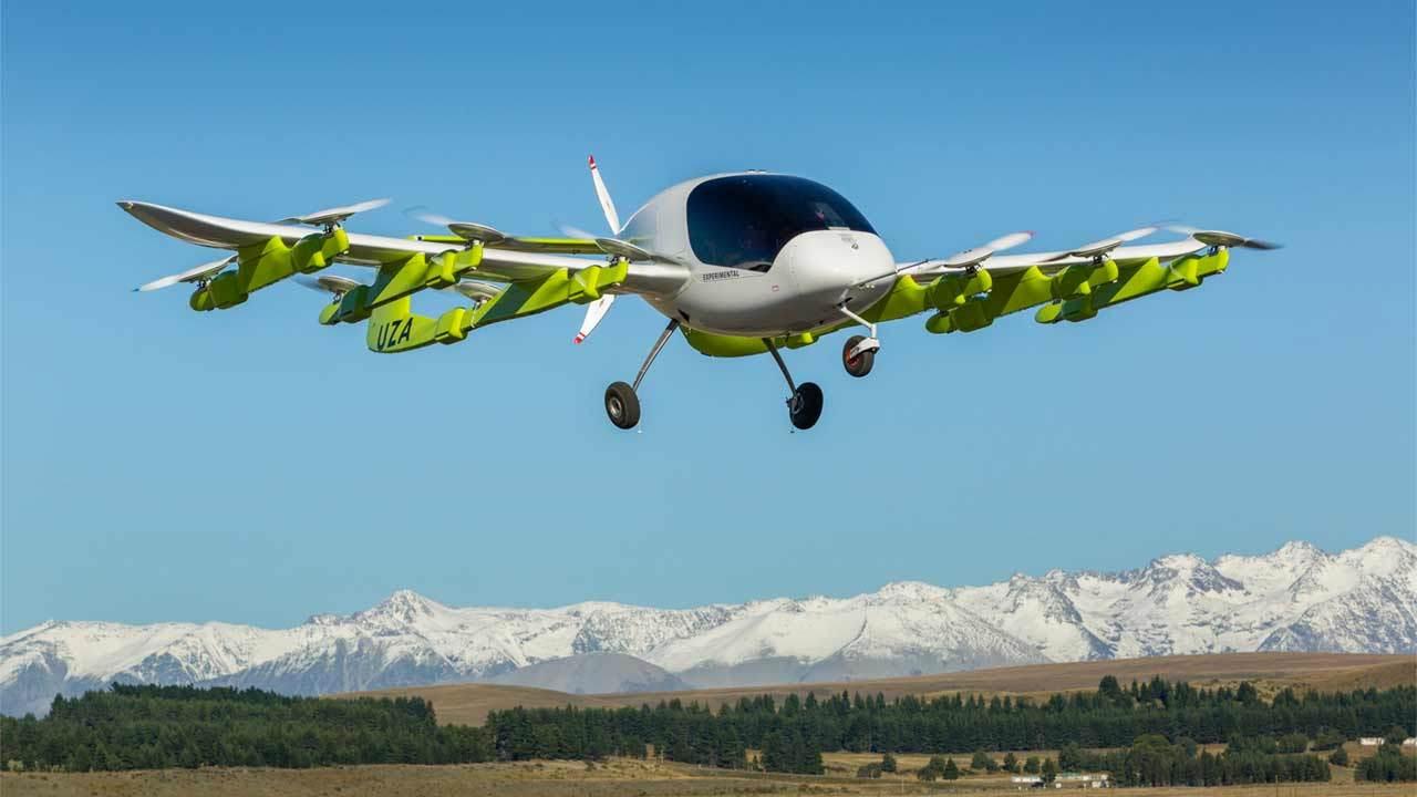 Стартап основателя Google тестирует беспилотные аэротакси